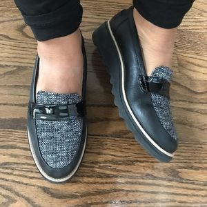 Clark's loafers